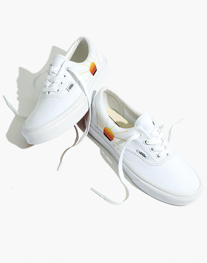 dadb6f9d77 New. Madewell x Vans® Unisex Sunset-Embroidered Era™ Lace-Up Sneakers