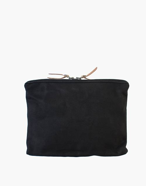 Makr Large Canvas Organizer Pouch by Madewell