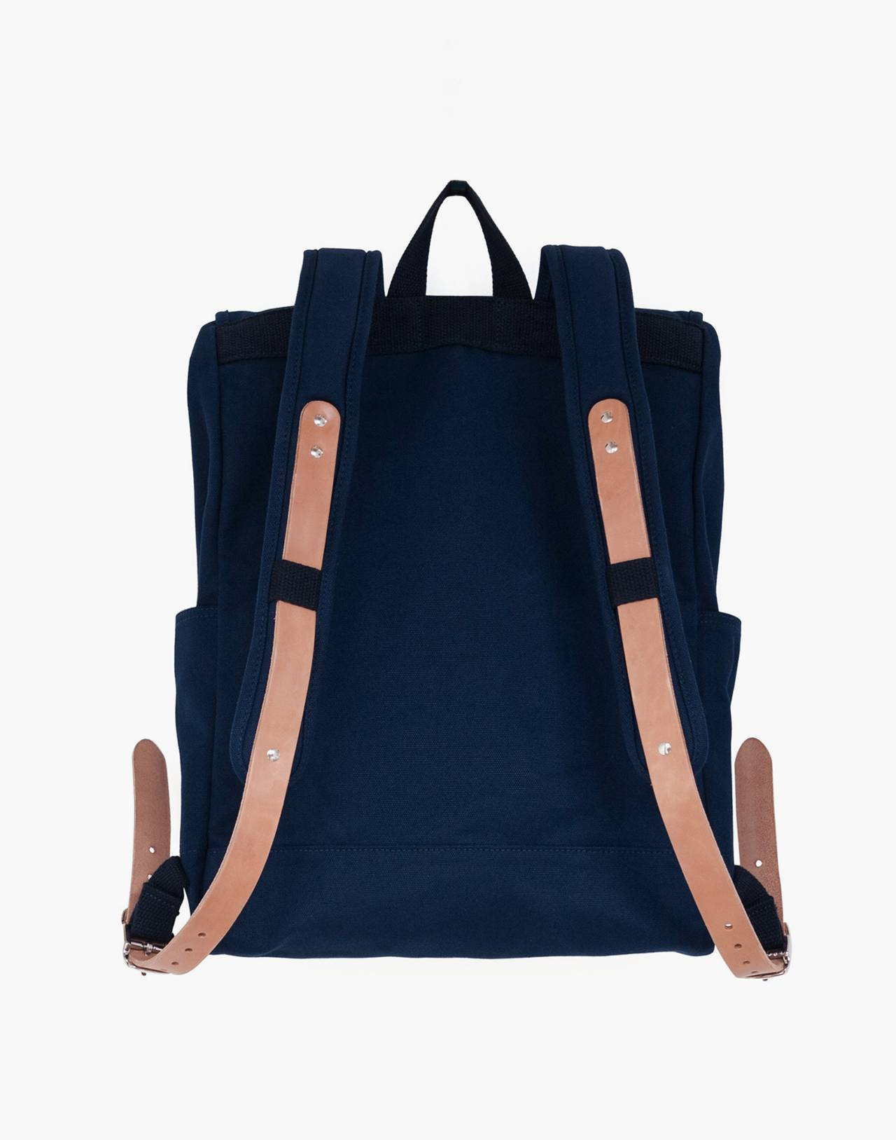 MAKR Canvas Farm Backpack in navy image 2