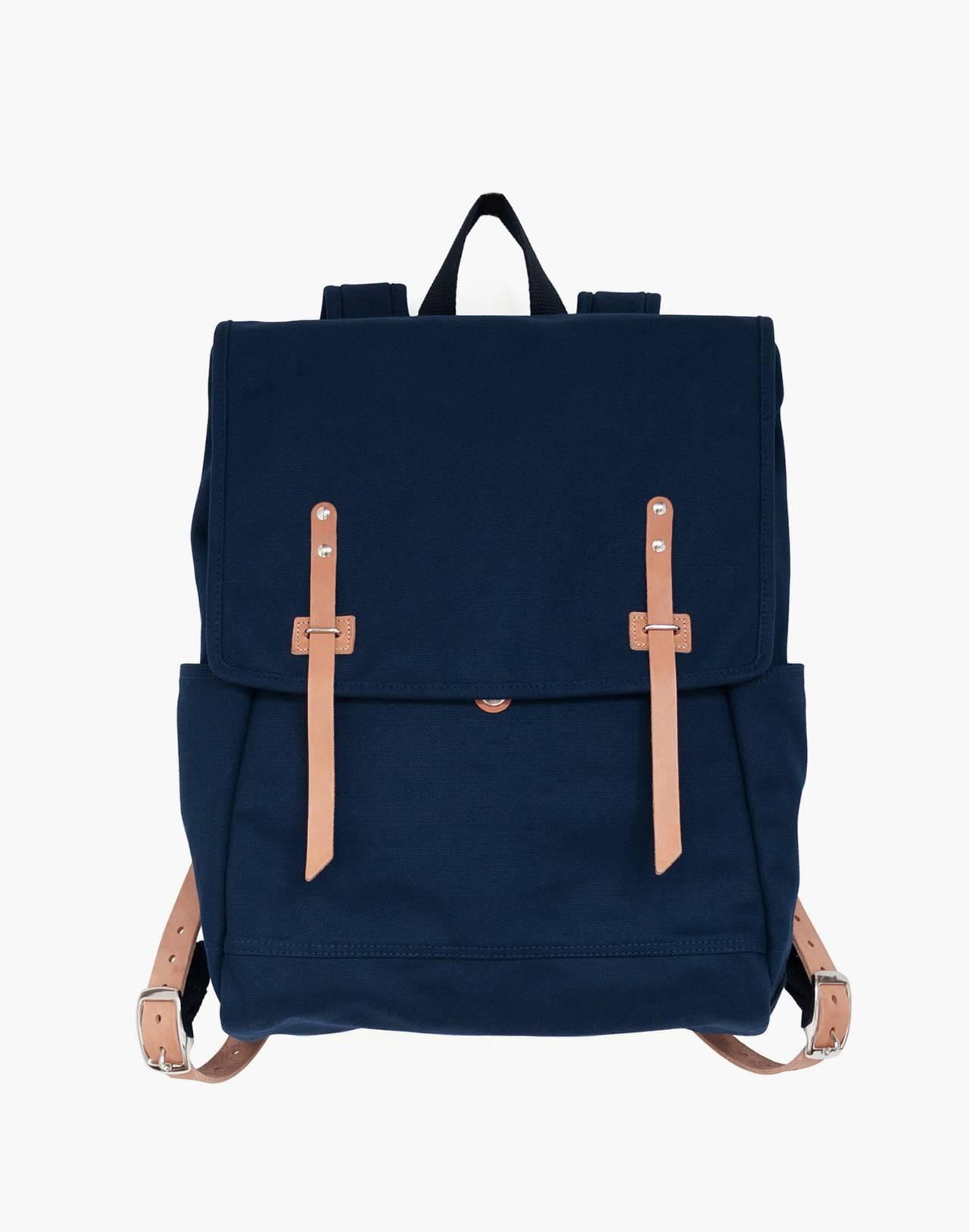 MAKR Canvas Farm Backpack in navy image 1