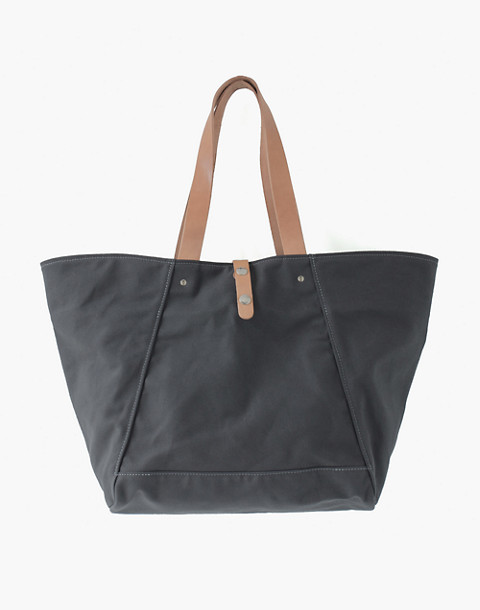 MAKR Canvas Farm Tote Bag in grey image 1