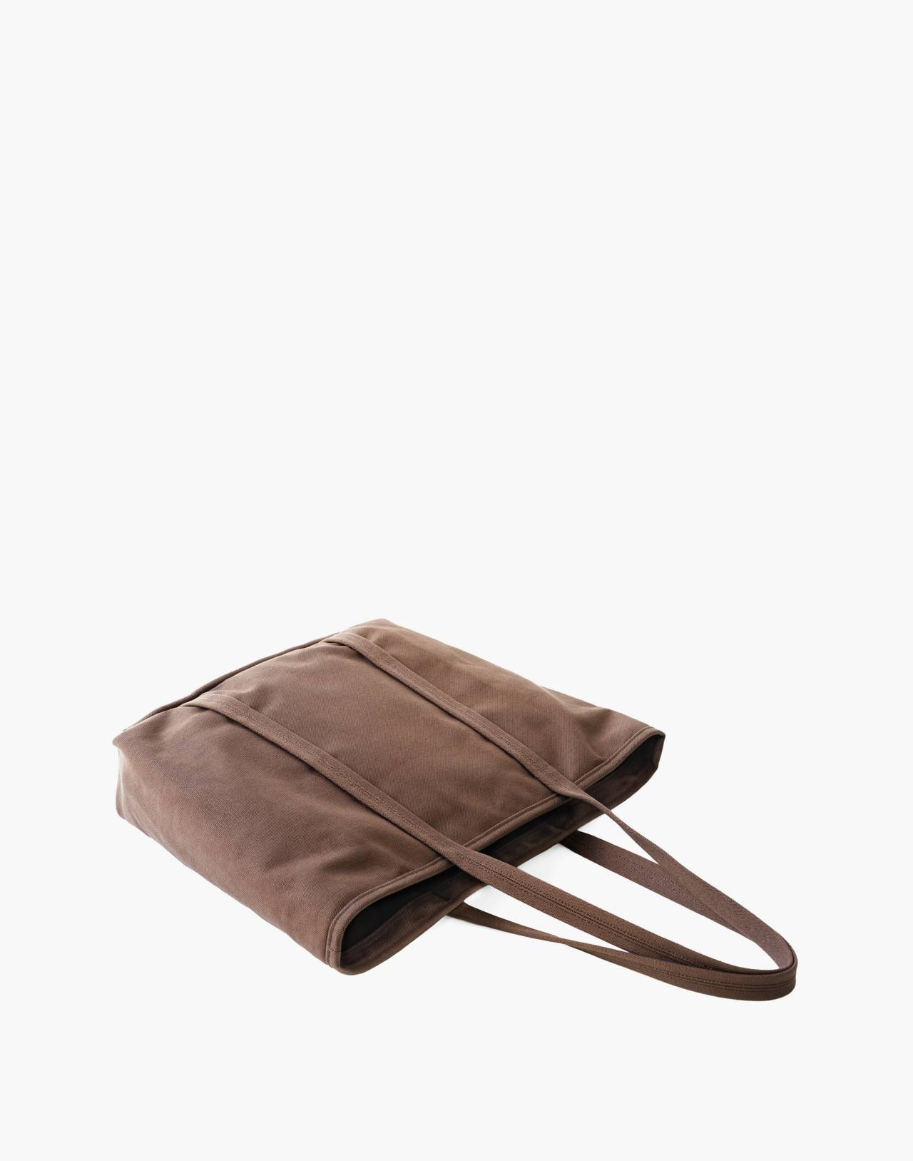 MAKR Canvas Day Tote Bag in brown image 2