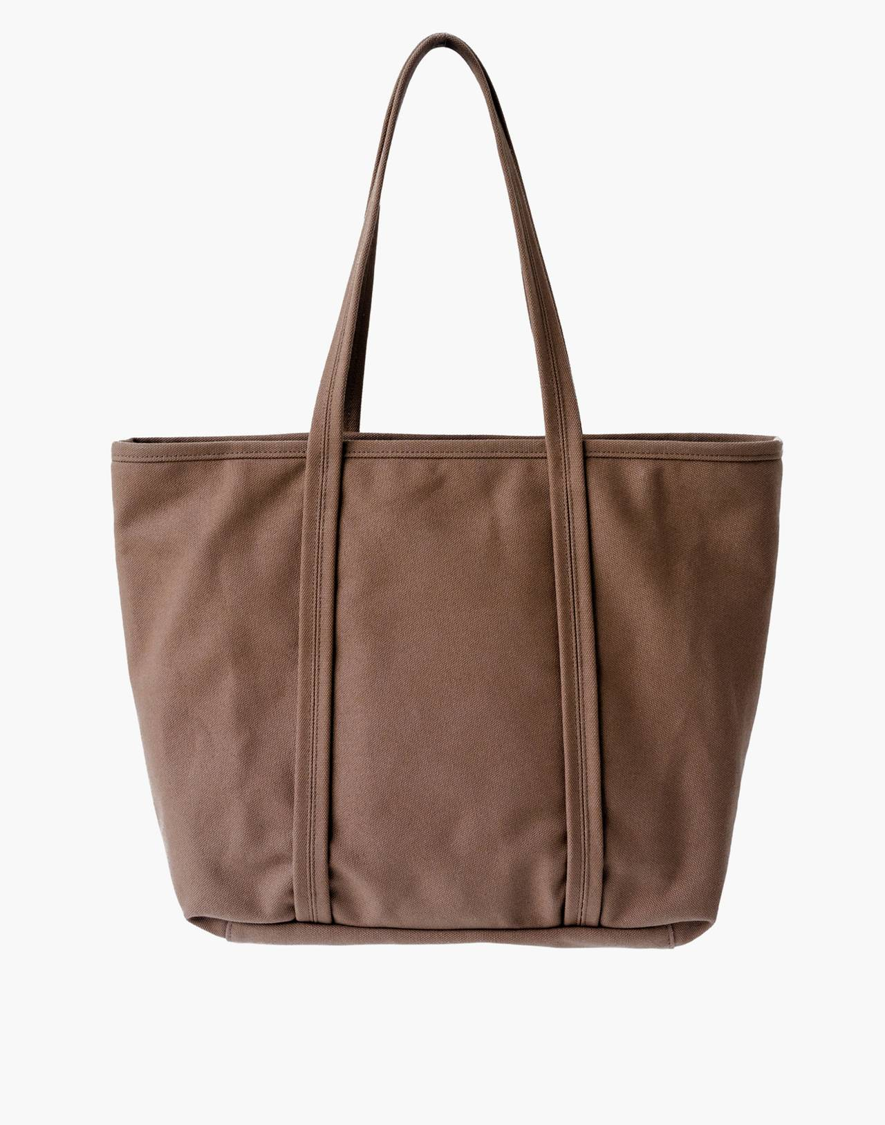 MAKR Canvas Day Tote Bag in brown image 1