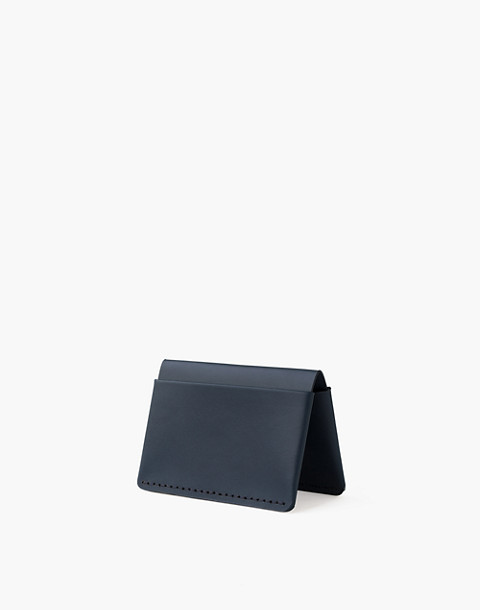 Makr Leather Horizon Four Wallet by Madewell