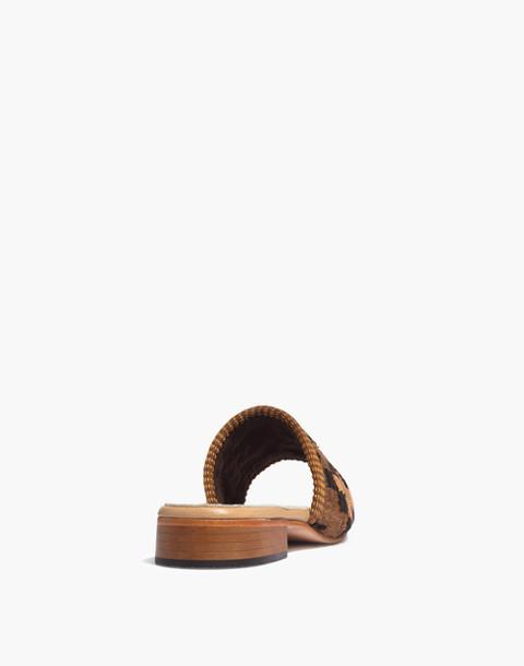 Artemis Design Co. Kilim Sandals in red multi geometric image 3