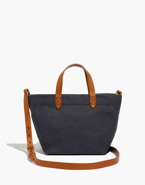 The Canvas Small Zip Top Transport Crossbody by Madewell