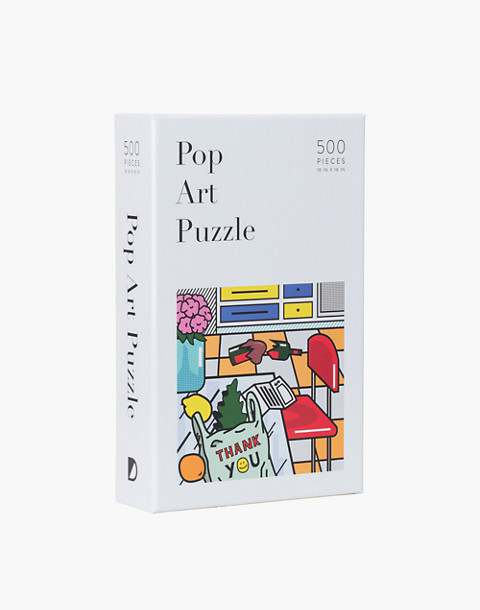 W&P™ Pop Art 500-Piece Jigsaw Puzzle in one color image 1