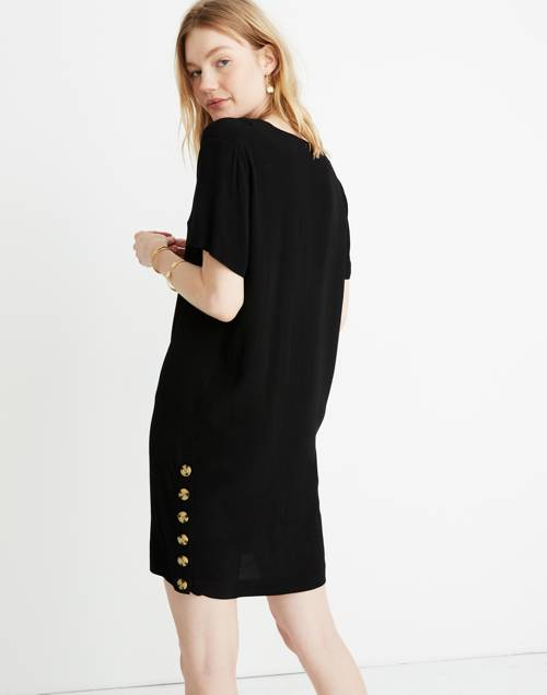 Side Button Easy Dress by Madewell