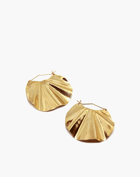 SLANTT® Dani Earrings in brass image 1