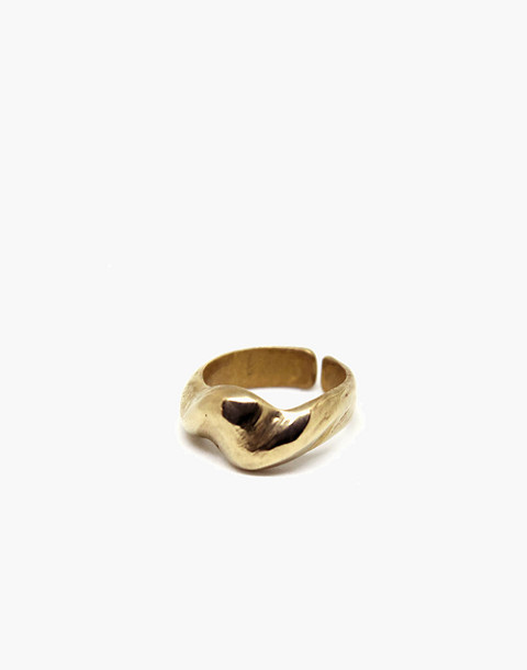 SLANTT® Amalfi Ring in brass image 1