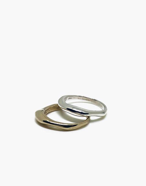 SLANTT® Frida Ring in brass image 3