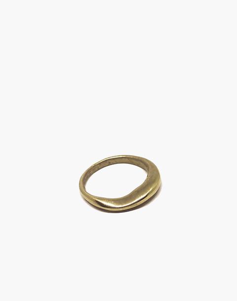 SLANTT® Frida Ring in brass image 1