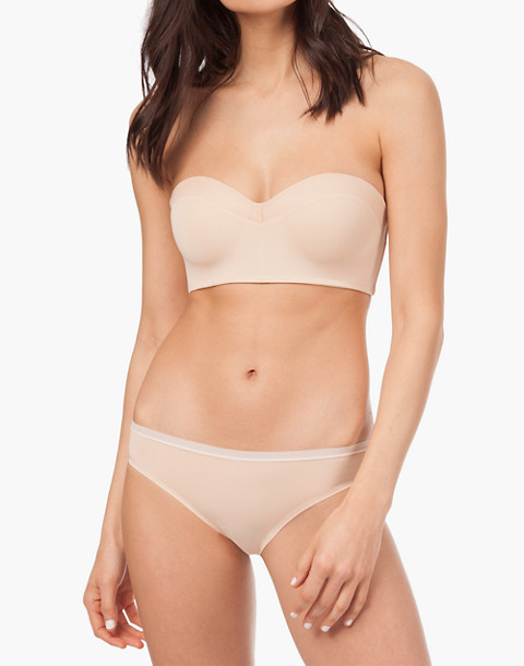 LIVELY™ No-Wire Strapless Bra in nude image 1