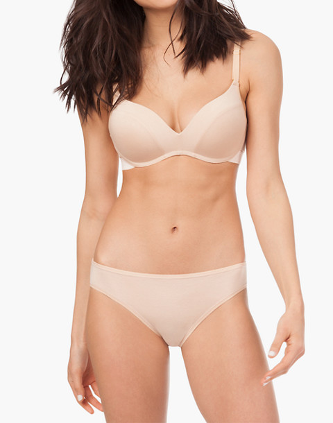 LIVELY™ All-Day No-Wire Push-Up Bra in nude image 1