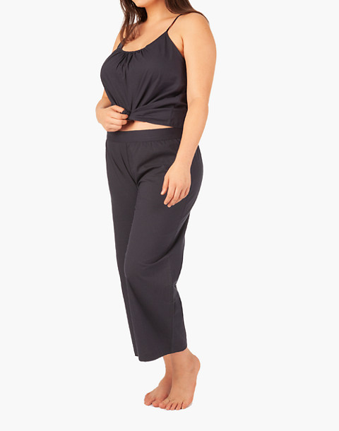 LIVELY™ Wide-Leg Lounge Pants in navy image 2