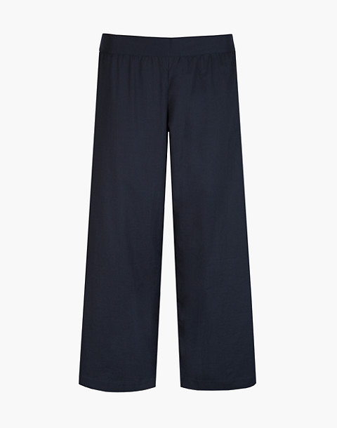 LIVELY™ Wide-Leg Lounge Pants in navy image 3