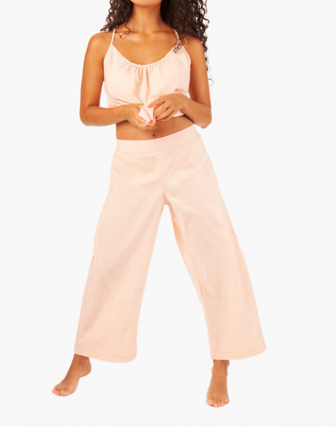 LIVELY™ Wide-Leg Lounge Pants in pink image 1