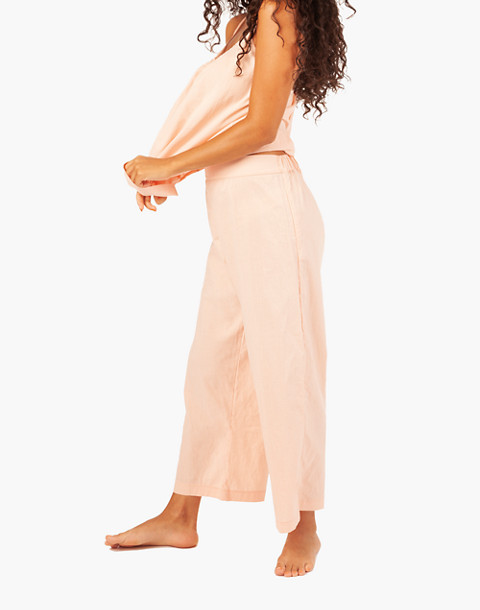 LIVELY™ Wide-Leg Lounge Pants in pink image 2