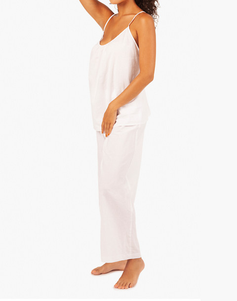 LIVELY™ Lounge Cami Top in white image 1