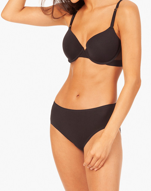 LIVELY™ All-Day T-shirt Bra in black image 2