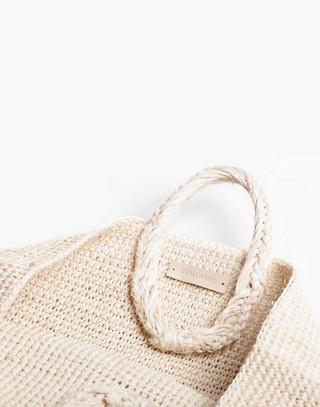 SOMEWARE™ Palma Crocheted Market Bag in nude image 1