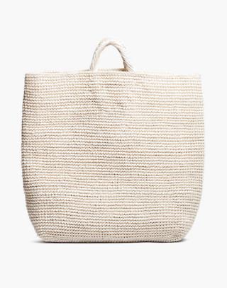 SOMEWARE™ Palma Crocheted Market Bag in nude image 2