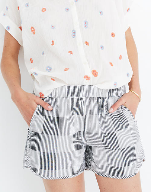 Pull On Shorts In Stripe by Madewell