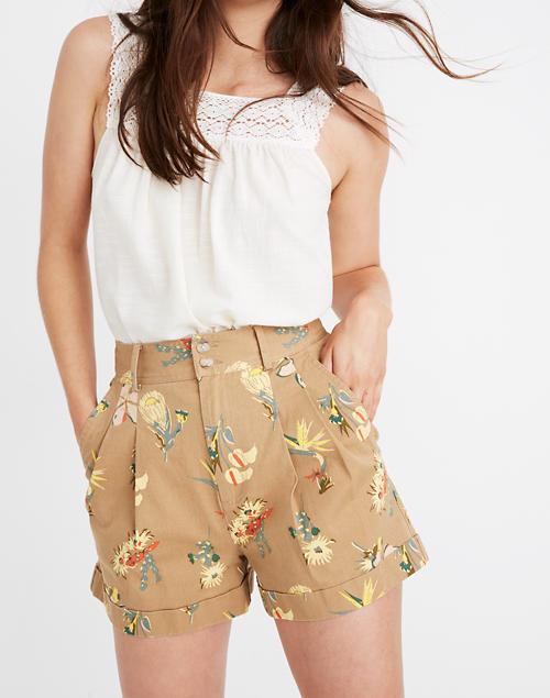 04ebe857b6 Pleated Shorts in Hawaiian Hideaway