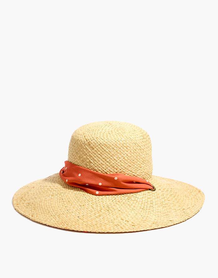 5a1ff446 Madewell x Biltmore® Chin-Strap Boater Hat