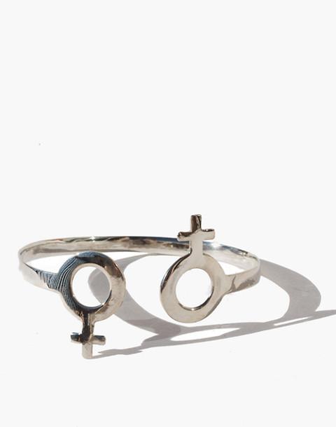 Charlotte Cauwe Studio Sterling Silver Female Cuff Bracelet in silver image 3