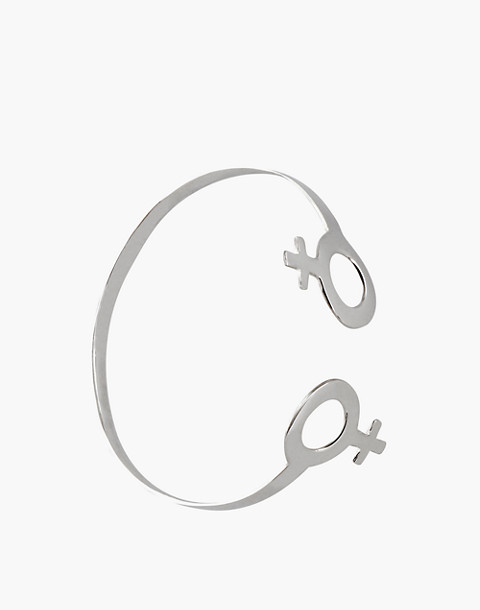 Charlotte Cauwe Studio Sterling Silver Female Cuff Bracelet in silver image 1