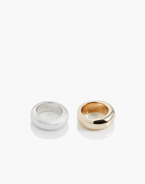Charlotte Cauwe Studio Donut Ring Set in gold image 2