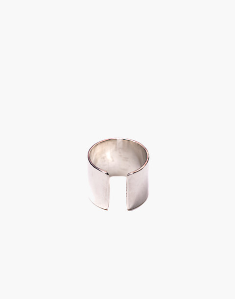 Charlotte Cauwe Studio Sterling Silver Wrap Ring in silver image 2