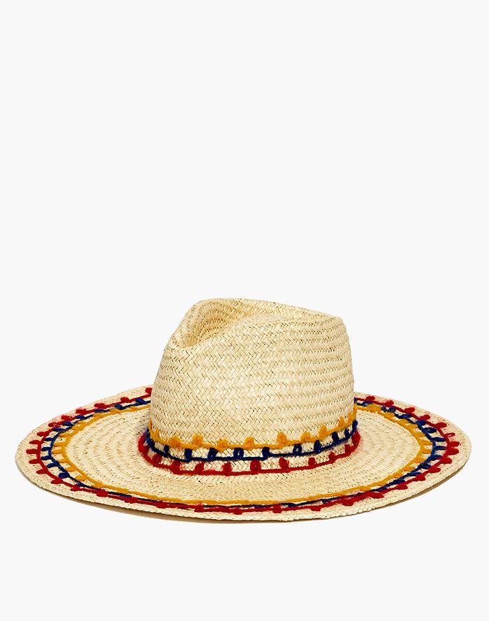ef2b072234571 Brixton® Joanna Embroidered Straw Hat