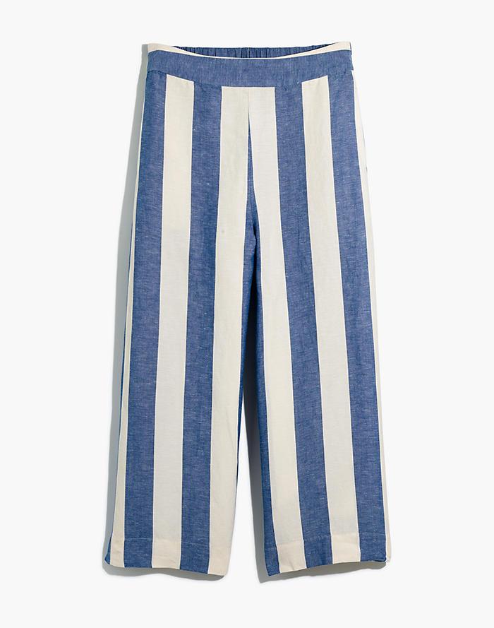 ae6209aefb Huston Pull-On Crop Pants in Stripe