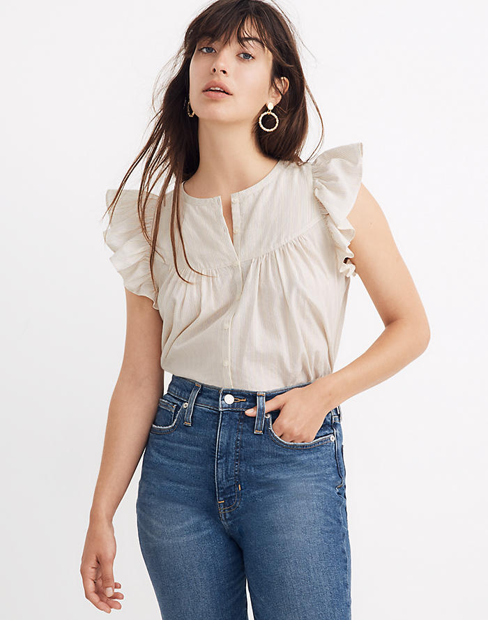 d9b733f7 Women's Shirts & Tops : Tanks, Tees, Blouses & Chambray | Madewell