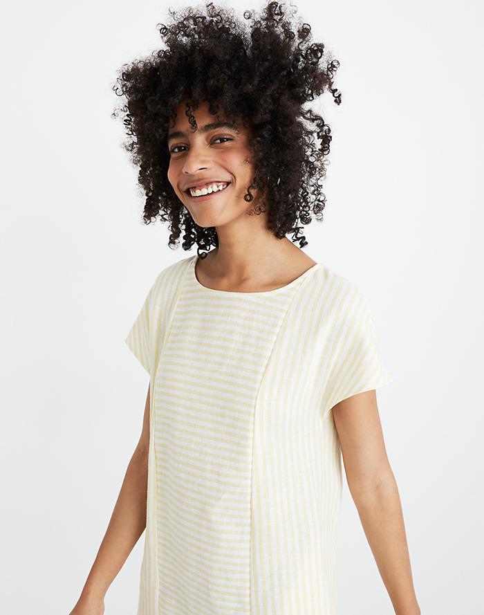714b8a5220e Stripe-Play Button-Back Dress ...