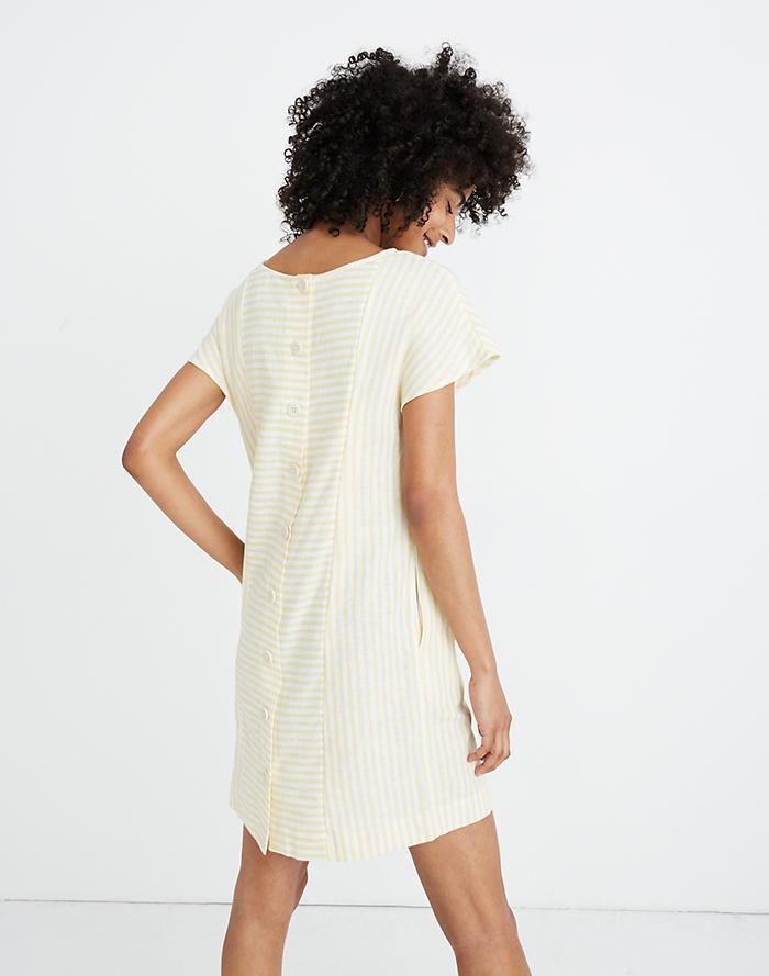 f357d68b9a6e Stripe-Play Button-Back Dress