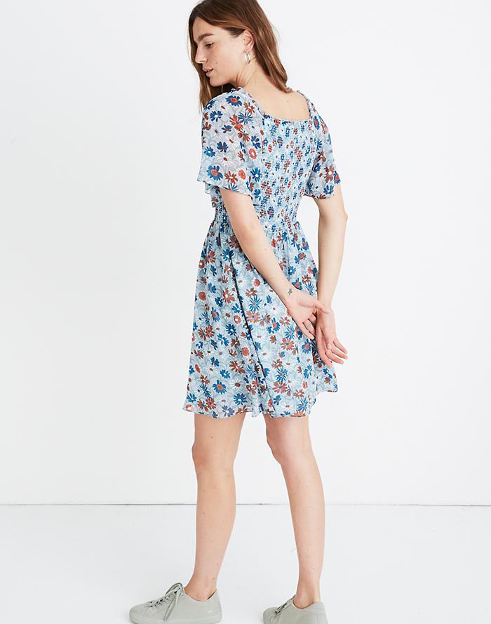 8d0c3b762e9 New. Flutter-Sleeve Smocked Dress ...