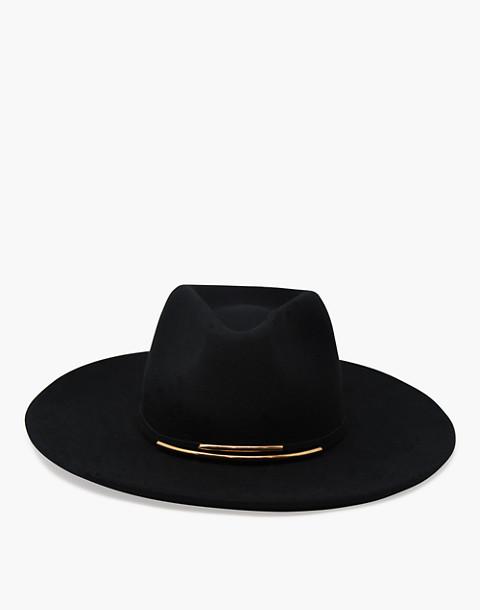 WYETH™ Riley Panama Hat in black image 3