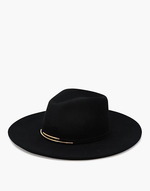 WYETH™ Riley Panama Hat in black image 1