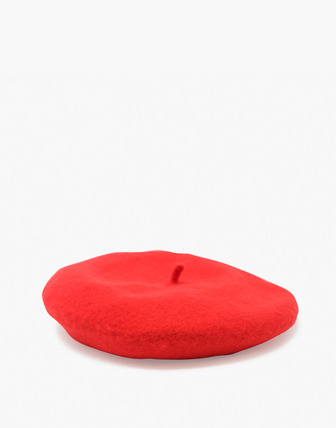 WYETH™ Sylvie Beret in red image 1