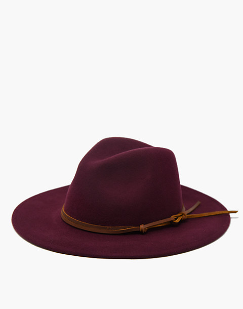 WYETH™ Billie Rancher Hat in dark red image 2