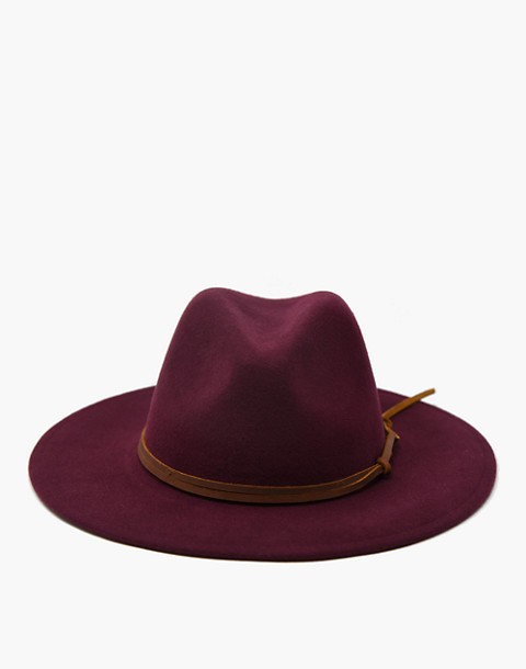 WYETH™ Billie Rancher Hat in dark red image 1