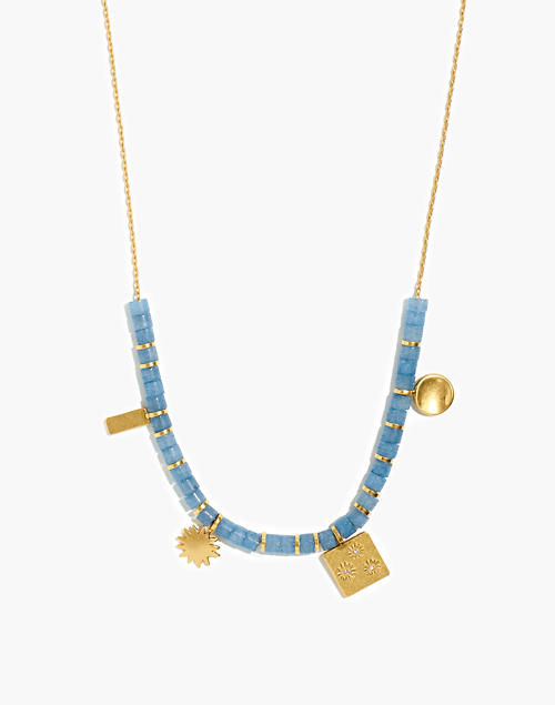 sunbeam-beaded-necklace by madewell