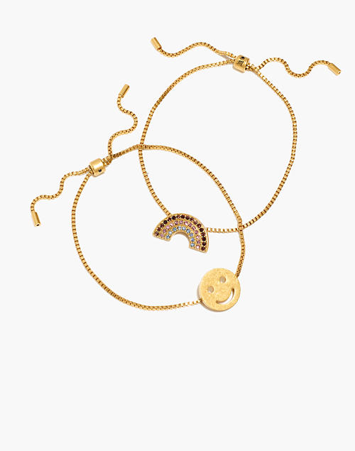 Chain Friendship Bracelet Set by Madewell