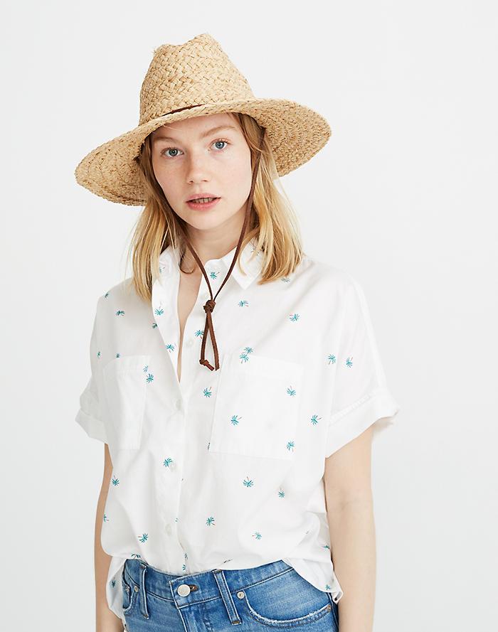 0ca66ac1406 Madewell x Biltmore® Raffia Lifeguard Hat