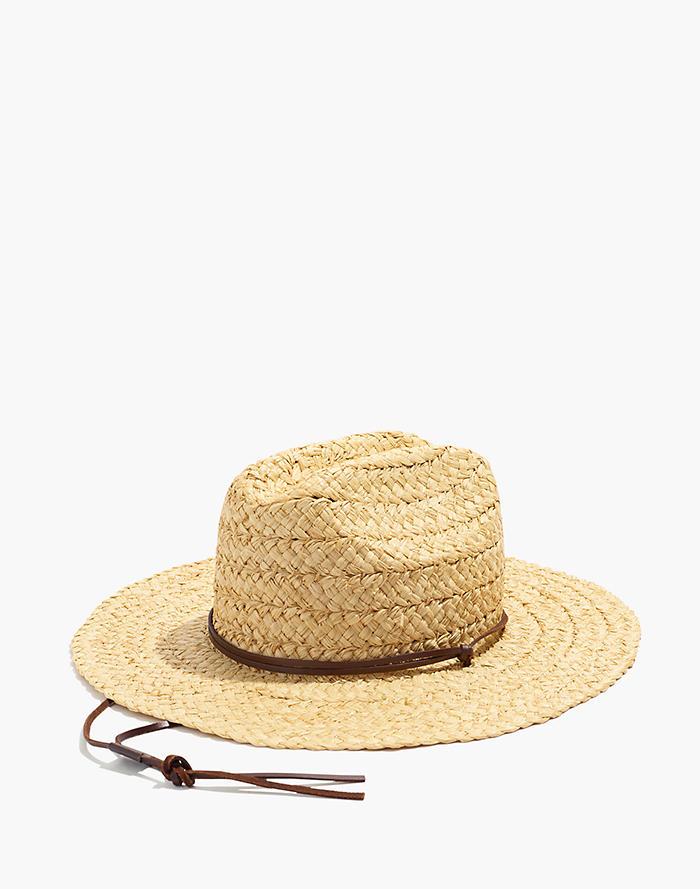 ca5c4ec2f27a1 Madewell x Biltmore® Raffia Lifeguard Hat