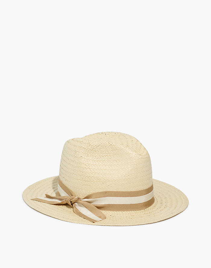 3154097becb0a Madewell x Biltmore® Striped-Band Panama Hat