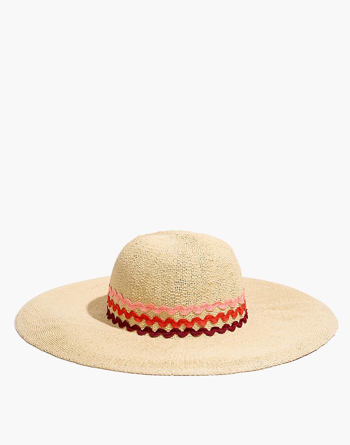 63829a5be3f Madewell x Biltmore® Rickrack Straw Hat